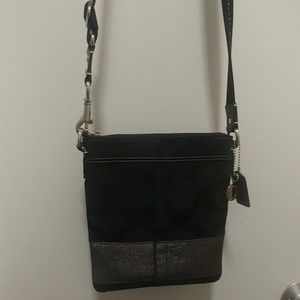 Black with silver accent very excellent used condi